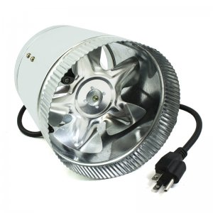 View Inline Duct Booster Fan 15cm 240cfm